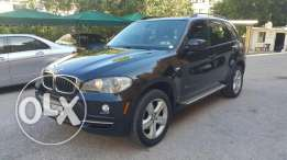 BMW X5/2007 Black on brown,fully loaded with rear camera no accident