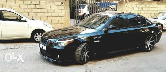 Bmw 530 model 2006 look m5 original sport package رياض الصلح -  1