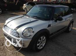 mini cooper 2008 silver vary clean
