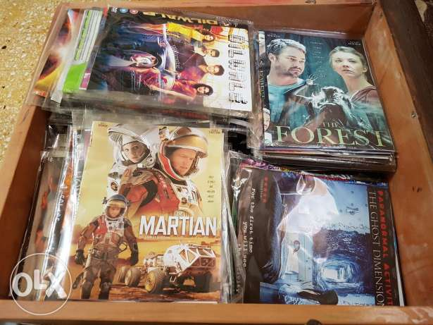Movies - collection - used one time - about 170 CD high quality