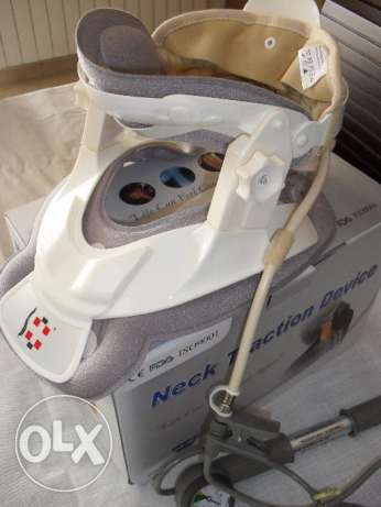 Medical Cervical collars with traction pump
