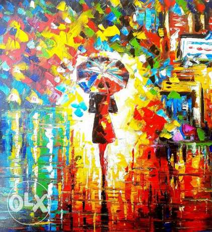 FINAL SALE on Oil Paintings - Huile sur Toile (Hamra or Dbayeh)