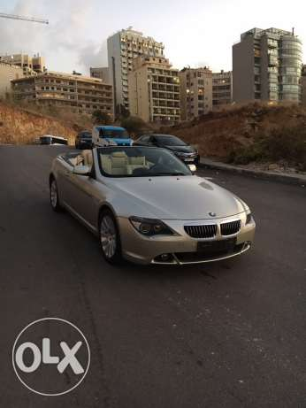 BMW 650i 2007 convertible like new الروشة -  3