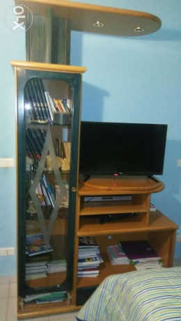 Tv unit/Bibliotheque بعبدا -  1
