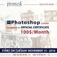 Photoshop courses at primos