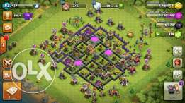 clash of clan قرية لفل 8