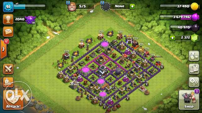 clach of clans 50$w fi calch royal arena 9 w 8 ball pool be siro 100$
