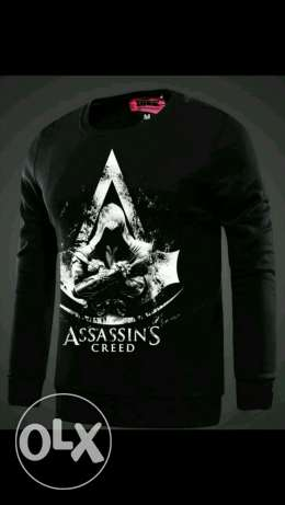 Assassin's Creed Unity High Quality Mens oneck sweatshirt for winter