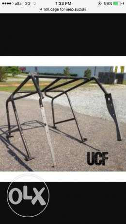 roll cage for jeep susuki