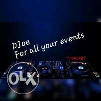 Djoe for all your events