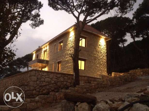Mega mega beautiful old stone house villa in he mountain المتن -  1