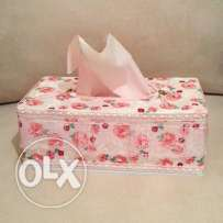 Lace Tissue Box Cover