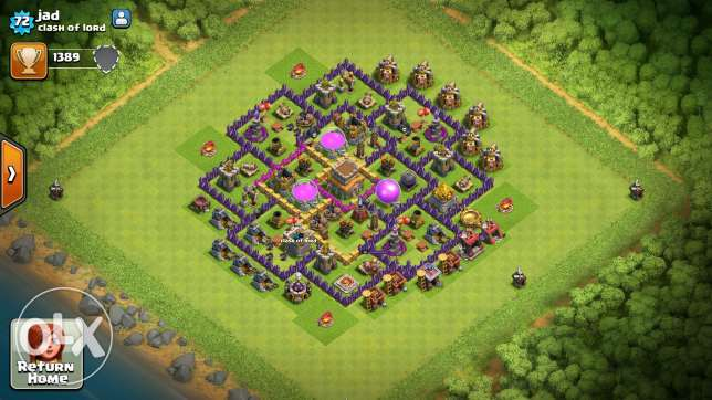 Clash of clans towhal 8 /7 عكار -  5