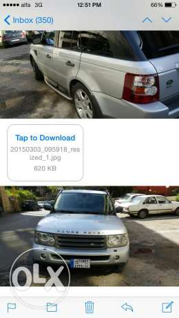 Range Rover Sport Edition 116000 miles, full option أشرفية -  4