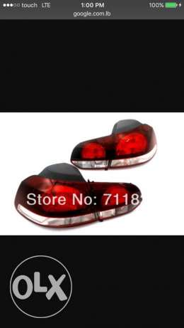 lights Tail lights for golf 6 gti mk6