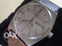 Original 1970's Omega Deville Automatic stainless steel - Like new