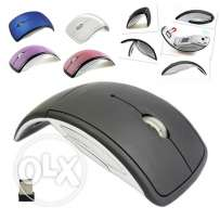 Hot ultra-thin 2.4 GHz foldable wireless Arc mouse