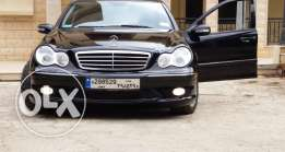 Mercedes c230 kompressor mod 2005 full options black / black