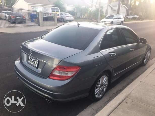 2008 mercedes C 300 gray clean carfax low mile 10 days for delivery كسروان -  3