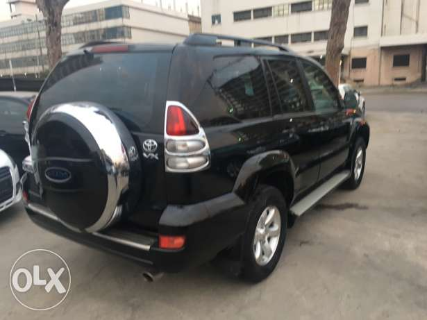 Toyota Prado VX 2009 Black Fully Loaded in Excellent Condition! بوشرية -  5
