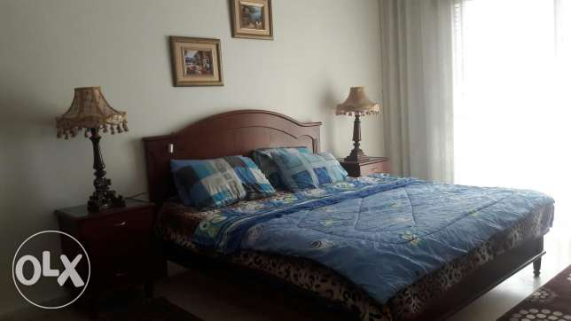 Furnished apartment for rent in rawshe area