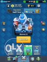 clash royale 50$ 2 legendary for iPhone only le2eno iCloud 7koune olx