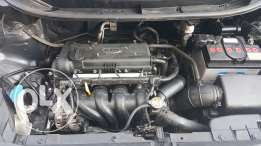 Engine assembly from kia rio 2013 driven