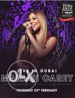 2 tickets for sale, Mariah Carey's Dubai Jazz Festival