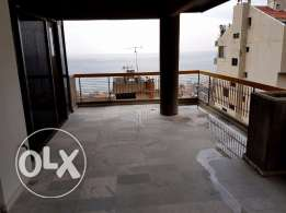 175 m2 apartment for rent in Haret Sakher (panoramic sea view)