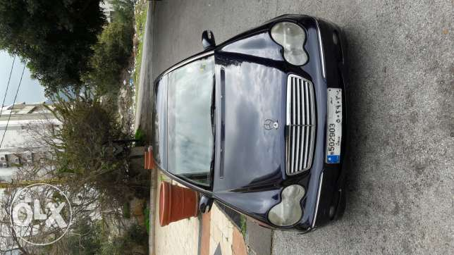 Mercedes 2001-C240 Elegance - in very good condition