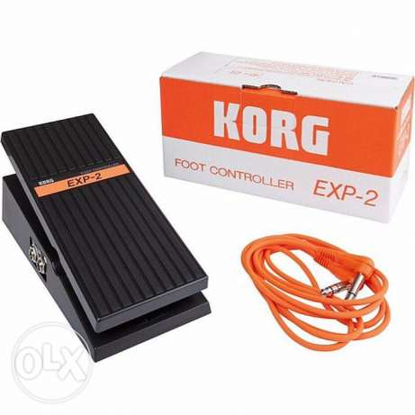 korg pedal boxed new package