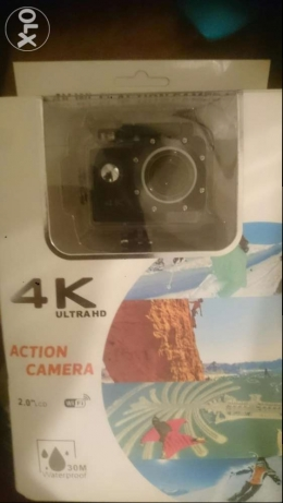 Gopro hero 3 style, 4k camera (not used)