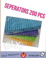 Seperators for pedicure
