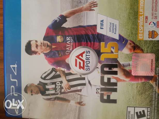 Fifa 15 for ps4 like new