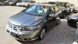 honda city 2013 grey, full option