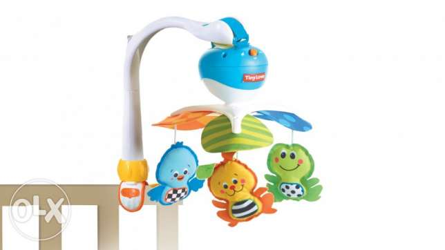 music toy Over bed for baby/ toy music / mobile