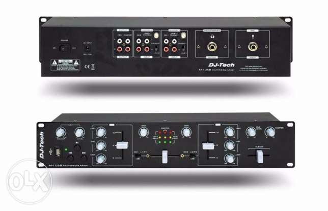 Mixer 2 channel 19""