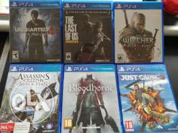 Used PS4 Games - Delivery keserwan metn beirut available
