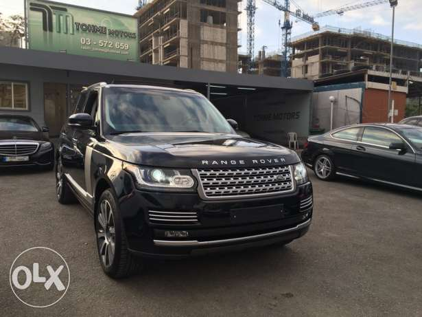 Range rover Vogue supercharged SE 2014 night blue on blue, GERMAN !!! انطلياس -  2
