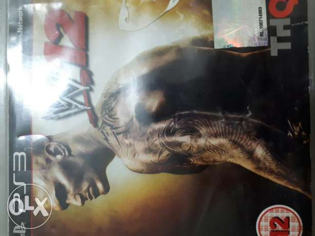 WWE12 for ps3 sale used