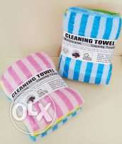 Four cleaning towels