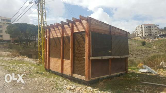 Wood house 4x3 for sale