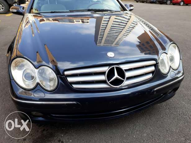 Clk 320 sport package screen