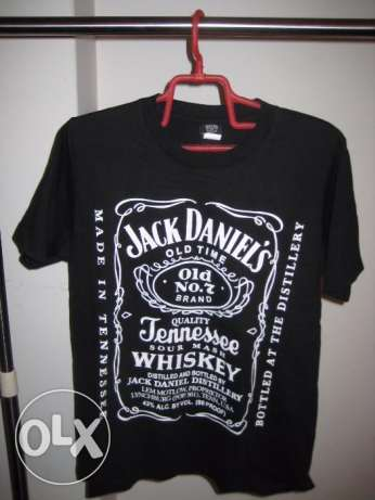 Jack Daniels t shirt original black new