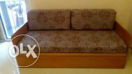 Sofa can be used 2 beds ( Sofa Bed )