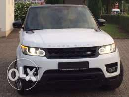 Range rover Sport HSE V6 2014 white on brown GERMAN FULLY LOADED