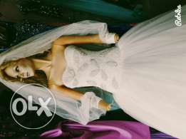 Made in turkey,high quality wedding gown