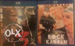 4 bluray movies