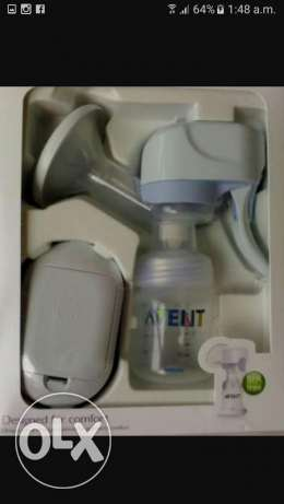 2- Avent electric pump used twice+ 1gift manual pump