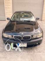 Bmw 325 coupe model 2004 for sale